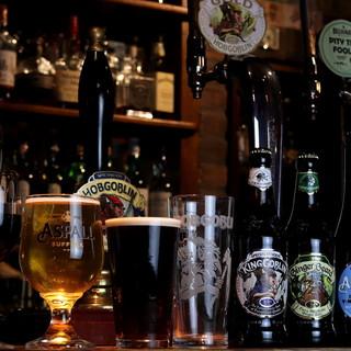 イギリス直輸入ビール!