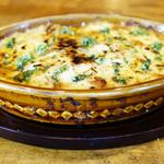 岩国イタリア食堂カンパーニュ - ◎岩国ミートソースの熱々ミートグラタン