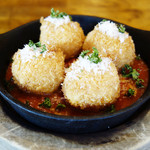 岩国イタリア食堂カンパーニュ - モッツァレラチーズ入りスップリ