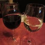 銀座イタリー亭 - ランチワイン(赤・白)各432円