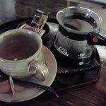 春秋風亭 - トラジャというコーヒー 400円