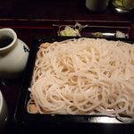 さらしな - さらしな蕎麦(700円)♪真っ白なお蕎麦です!