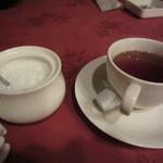 銀座イタリー亭 - ランチの紅茶