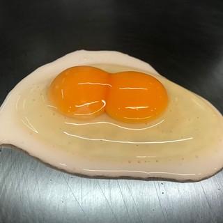 希少な二黄卵を使用しています