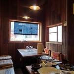 あけぼの食堂 - 店内