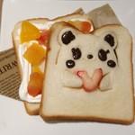 アラウンド テーブル - パンダさんサンドイッチ(フルーツ)