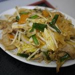 中華みやこ - 肉野菜炒め