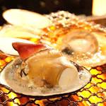 浜焼太郎 - 白ハマグリ食べ放題コース