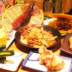 浜焼太郎 - お腹一杯縁日グルメコース