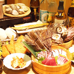 浜焼太郎 - イチオシ大満足コース
