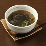 ■わかめスープ