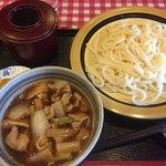 三番所四国うどん - 料理写真:肉汁うどん定食