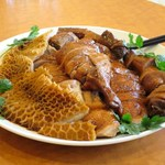 南粤美食 - 港式滷水拼盤(鴨・鴨頸・金銭肚)