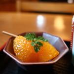 そば会席 立会川 吉田家 - オレンジ