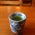 そば会席 立会川 吉田家 - 無茶苦茶旨い緑茶