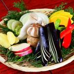 黒牛屋 - 野菜盛り合わせ