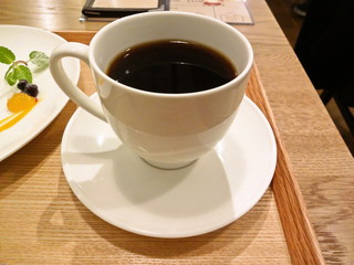 グッドニュースカフェ - 炭火ブレンドコーヒー (ハンドドリップ)