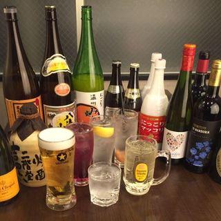 ワイン、シャンパン、ドンぺリなど、焼肉店とは思えない贅沢美酒