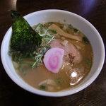 麺家 静 - 中華そば(にぼにぼ)