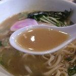 麺家 静 - 煮干しの風味効いたスープ☆