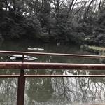 81691576 - お席から池を眺め