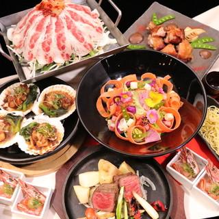 【コース料理】シーンで選びやすい豊富なコースは3000円〜★