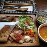 ケケレ - 料理写真:スープランチ(1000円)