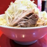 ラーメン二郎 - 料理写真:ラーメン小+ニンニク多め野菜