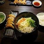 餃子バル - マヨら~麺セット