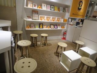 マリオジェラテリア 渋谷ヒカリエ店 - 10人座れます。