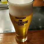 無添加焼きそば BARチェローナ - 生ビール