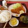 水戸屋食堂 - 料理写真:ジャンボとんかつ定食