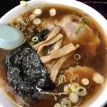 正華飯店 - 母の醤油ラーメン600円