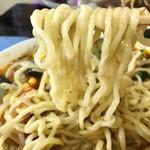 正華飯店 - 太縮れ麺