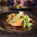 玉峰館 - 金目鯛の煮付け。