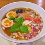 81698038 - 鶏煮干しらあ麺(750円)