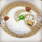 ヴェルヴェンヌ - 料理写真:レンズ豆のスープ