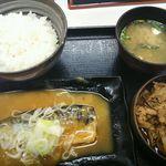 吉野家 - 料理写真:牛鯖みそ定食680円(税込)
