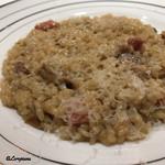 トキヨジセツ オノデラ - 料理写真:ポルチーニ茸のリゾット