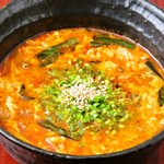 黒牛屋 - ユッケジャンスープ