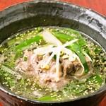 黒牛屋 - 牛テールのあっさりスープ