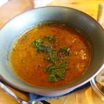 オクシモロン - 安納芋と野菜のサンバル