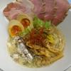 ふく流ラパス 分家 ワダチ - 料理写真:オイルサーディンと塩煮干ラパス