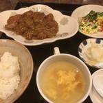 81702005 - 太幸苑(レバニンニク定食)