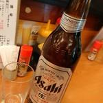 起世 居酒屋 - 瓶ビール