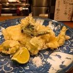 和馳走 蔵屋 - 春野菜の天ぷら