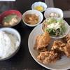 炎 - 料理写真:唐揚げ定食=700円