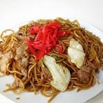 松島屋食堂 - 料理写真:焼きそば並430円