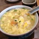 椿食堂 - 卵雑炊 650円