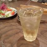 椿食堂 - ハイボール 500円